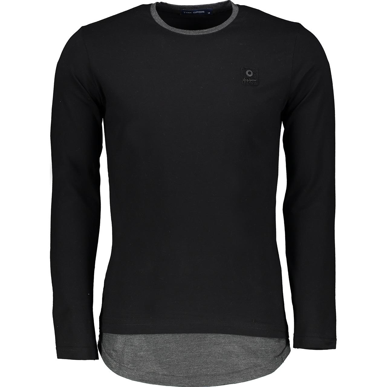 تی شرت آستین بلند مردانه تارکان کد btt 253-1
