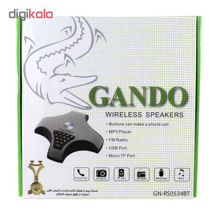 اسپیکر بلوتوثی قابل حمل گاندو مدل GN-RS0534BT