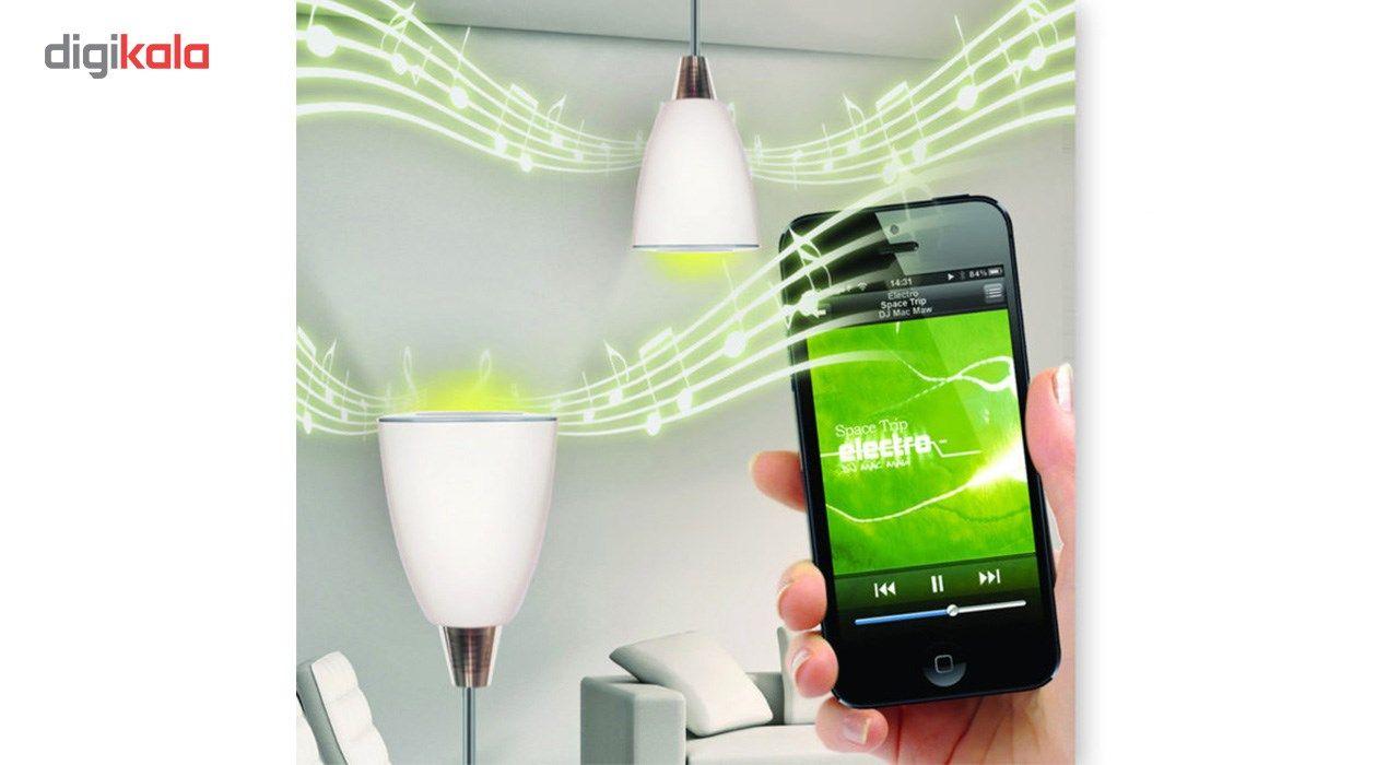 لامپ هوشمند و اسپیکر بلوتوث دیوایس کد Music Bulb  main 1 16