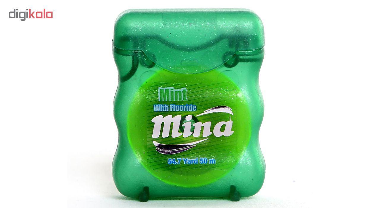 نخ دندان مینا مدل Mint Narrow بسته 2 عددی main 1 1