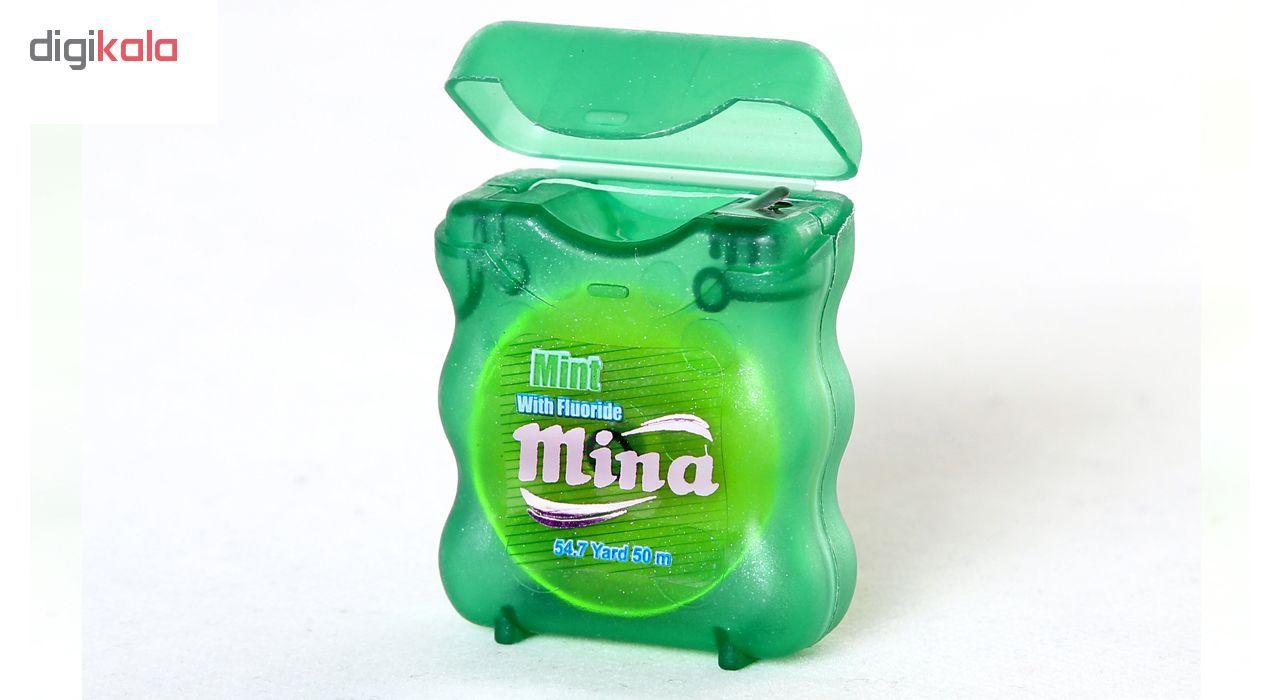 نخ دندان مینا مدل Mint Narrow بسته 2 عددی main 1 2