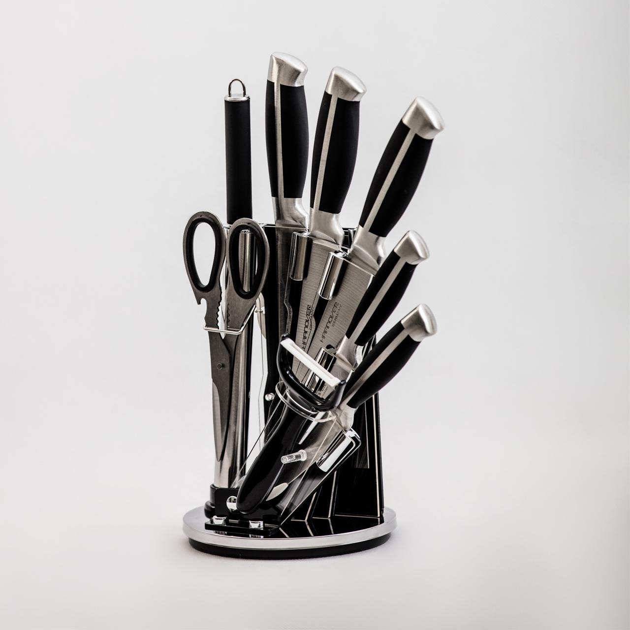 ست چاقوی 9 پارچه هانوور مدل 1124