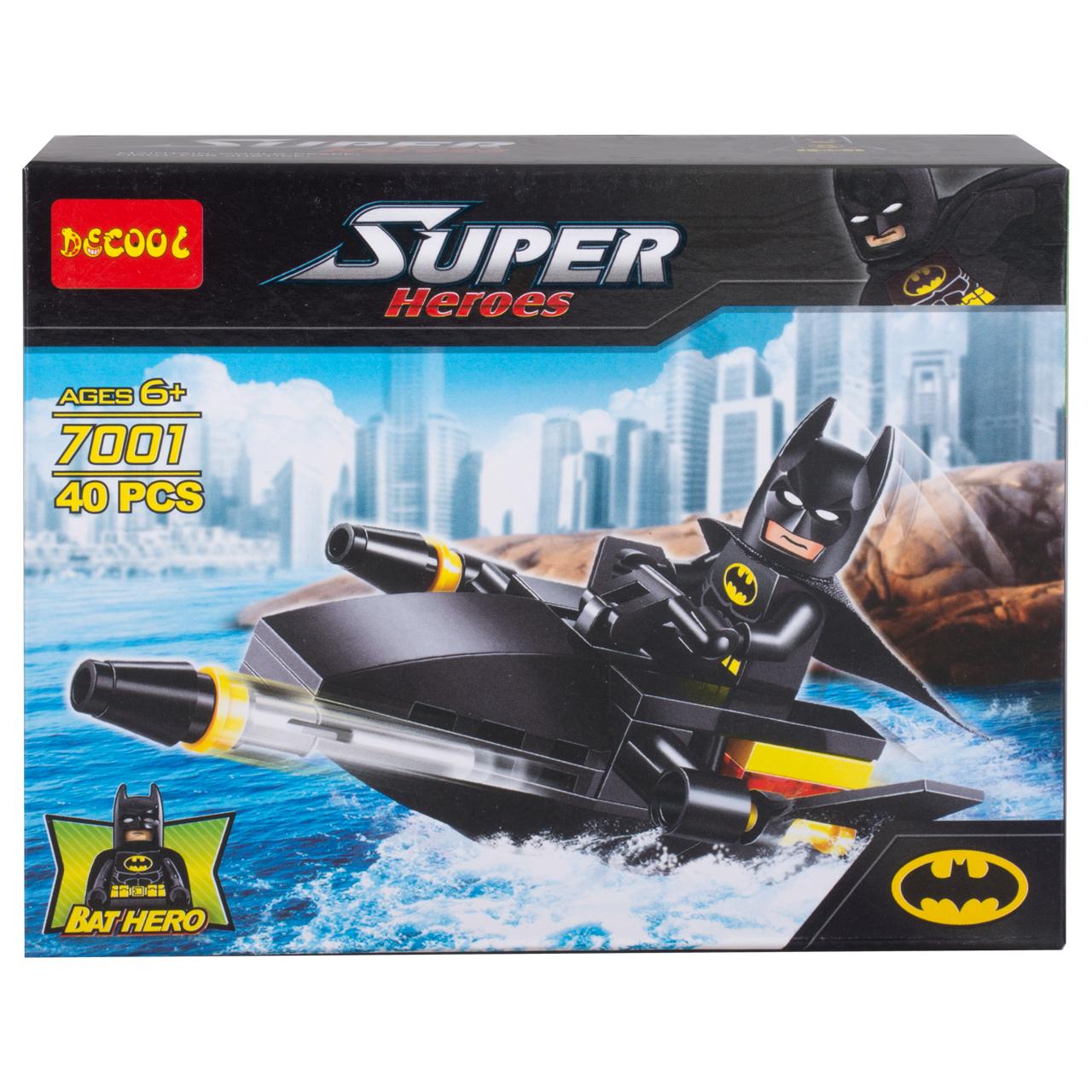 ساختنی دکول مدل Bat Hero