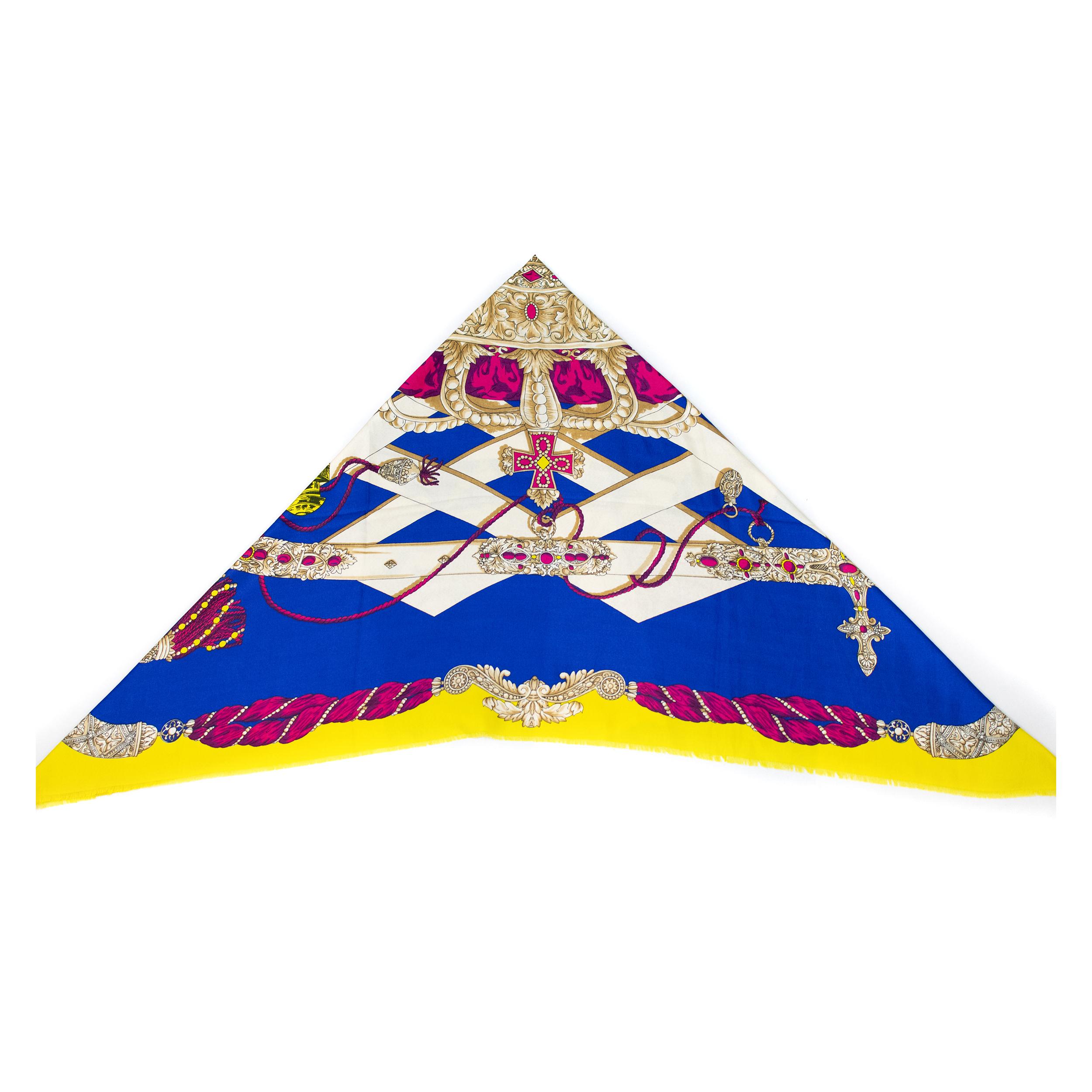 Photo of روسری طرح کالسکه مدل 1152