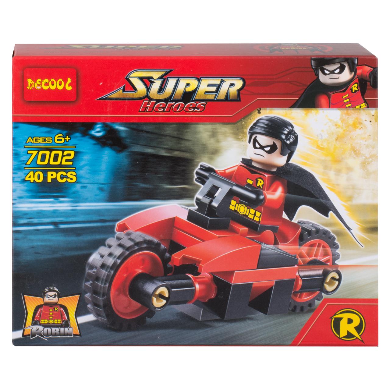ساختنی دکول مدل Super heros کد 7002