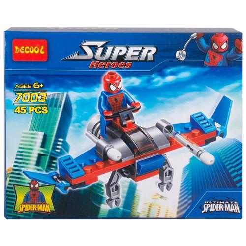 ساختنی دکول مدل Super hero کد 7003