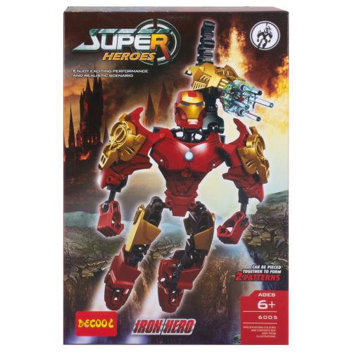ساختنی دکول مدل Iron heros