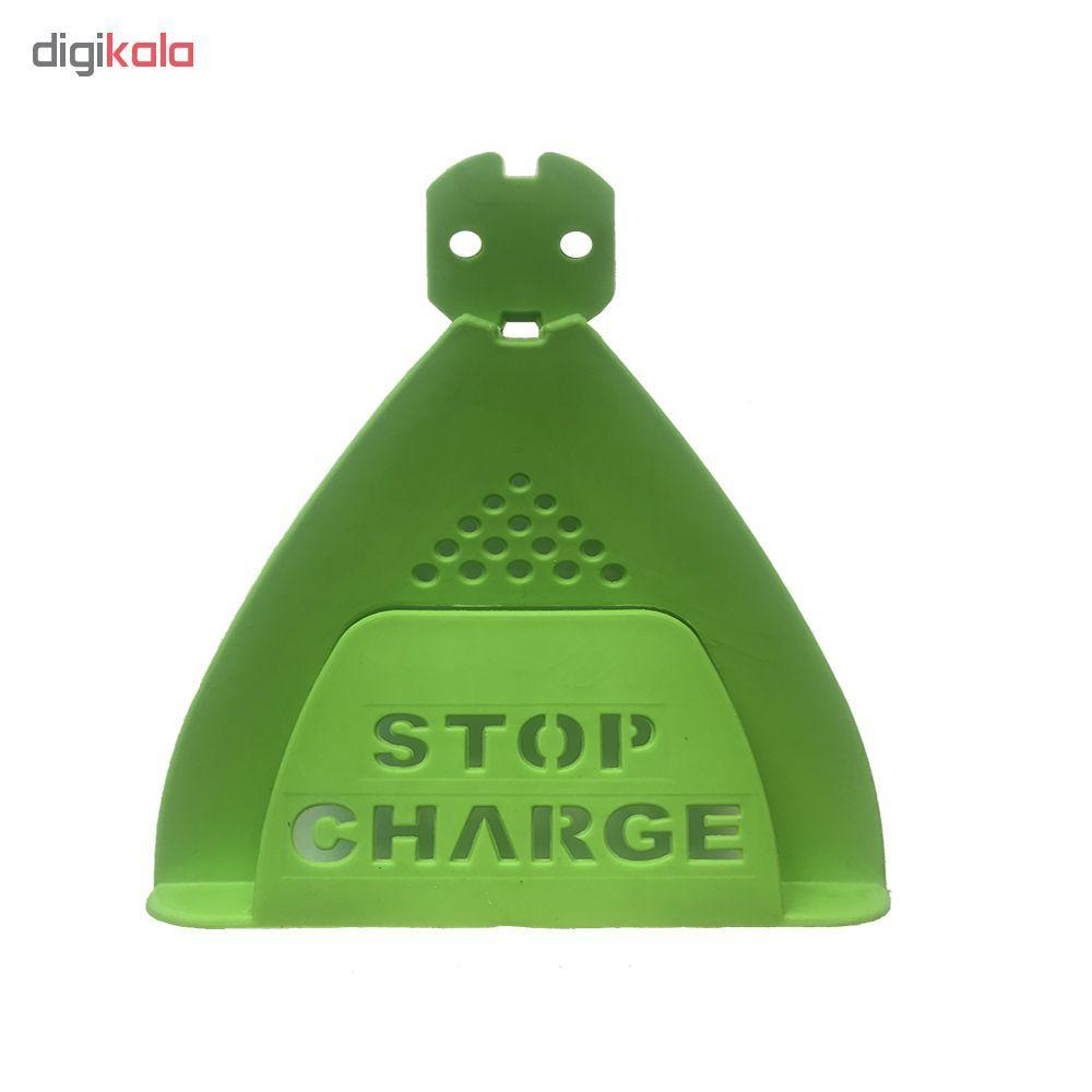 پایه نگهدارنده شارژر موبایل مدل Stop charge main 1 3