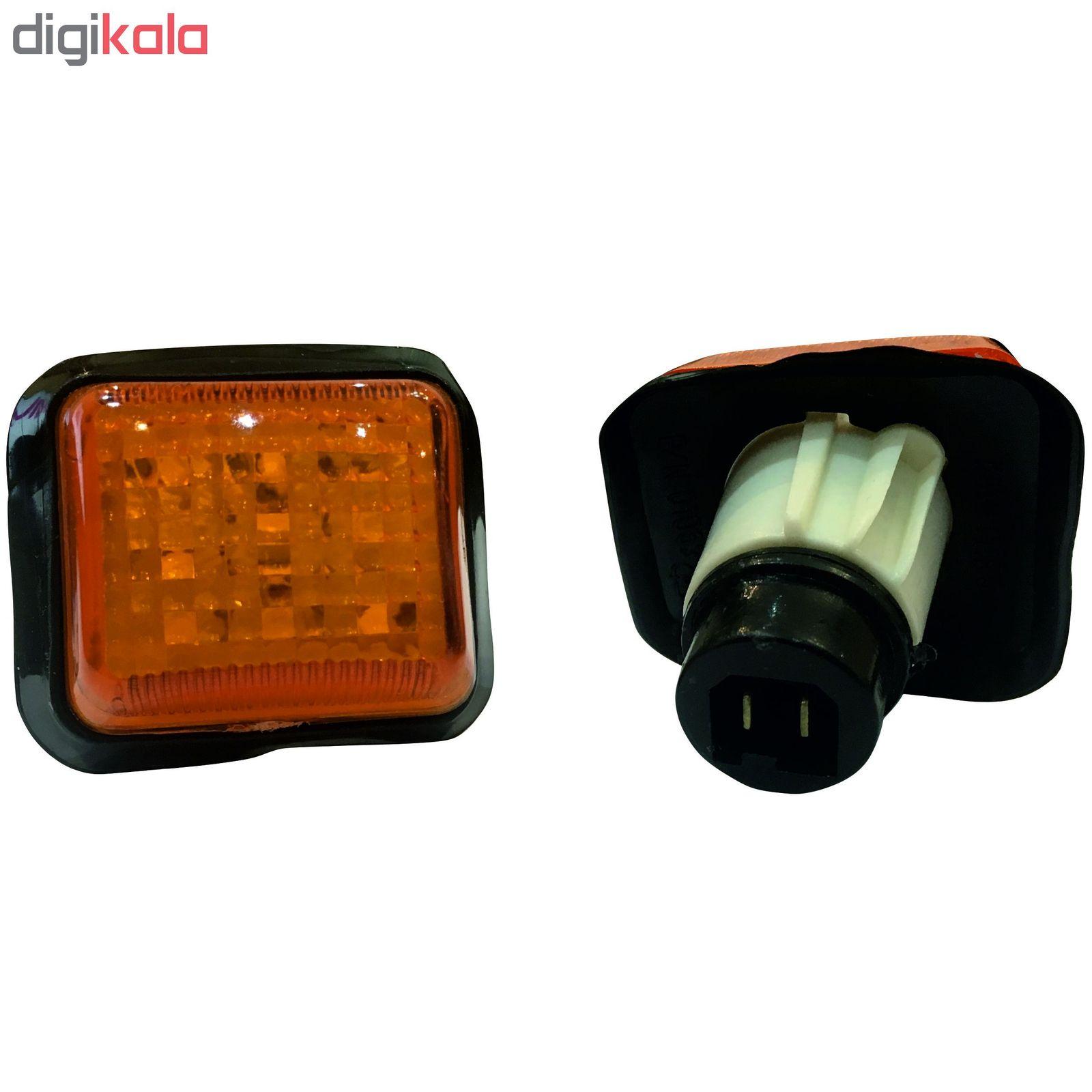 چراغ اس ام دی راهنمای گلگیر مدل PG-02 مناسب برای پژو 405 main 1 1