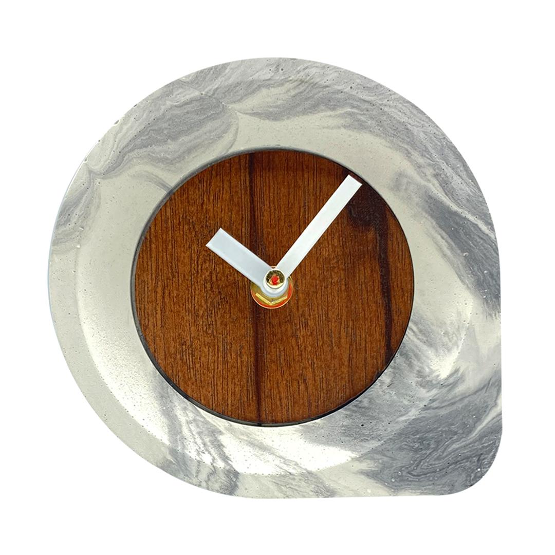 ساعت بتنی رومیزی طرح اشک کد DC002