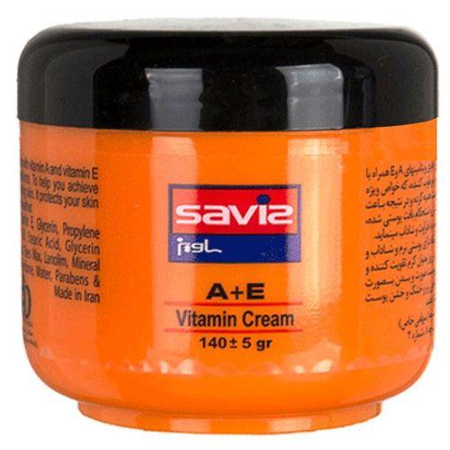 کرم مرطوب کننده ساویز مدل A-E مقدار 140 گرم
