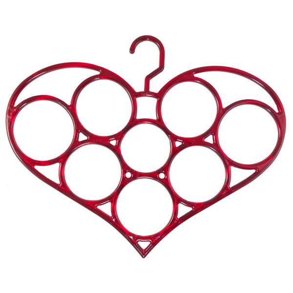آویز شال و روسری مدل قلب کد200