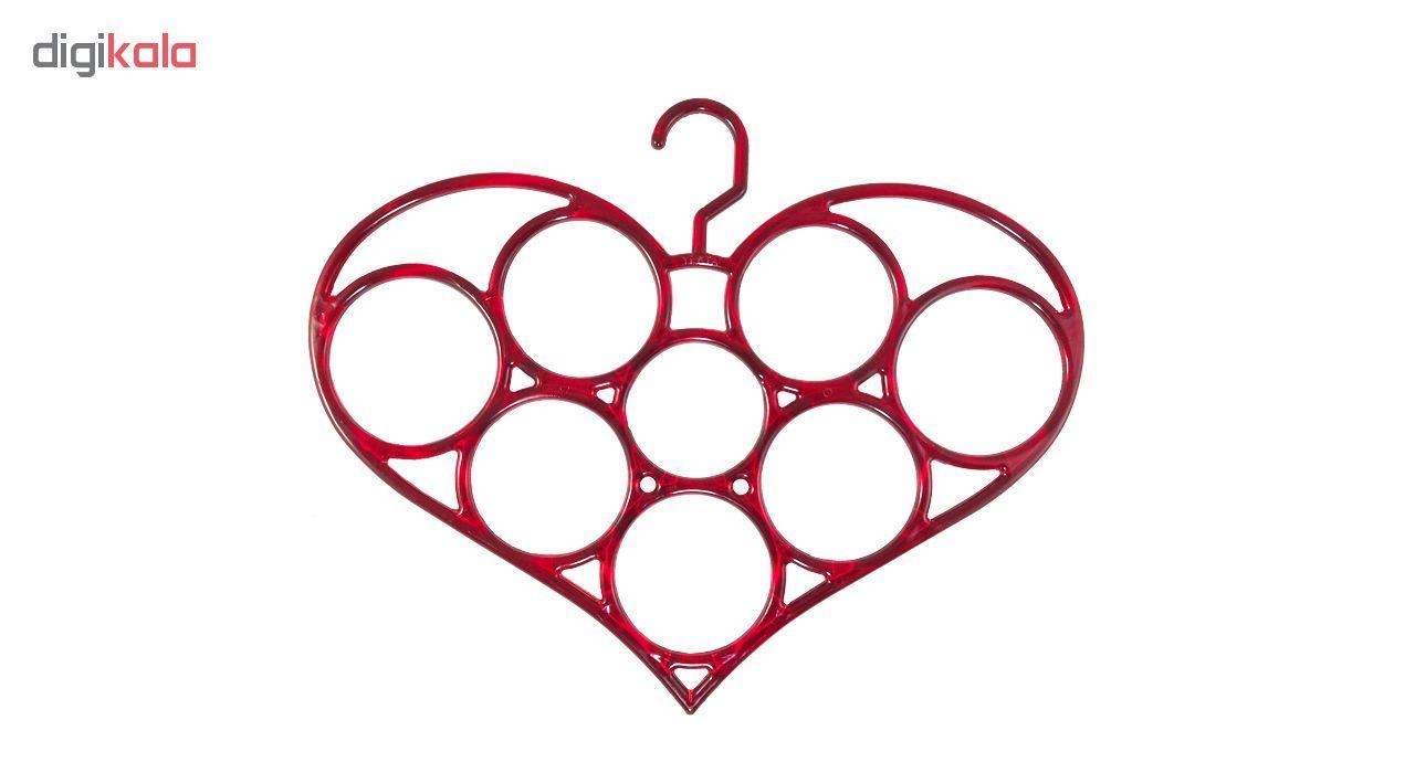 آویز شال و روسری مدل قلب کد200 main 1 1