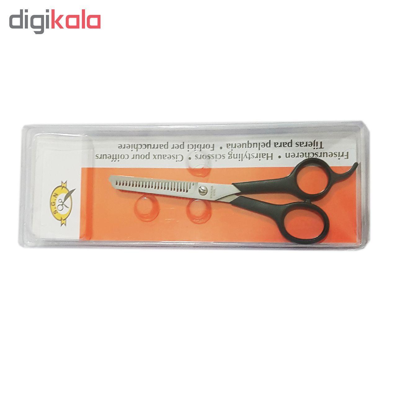 قیچی آرایشگری پیتاژ مدل S.G.N main 1 2