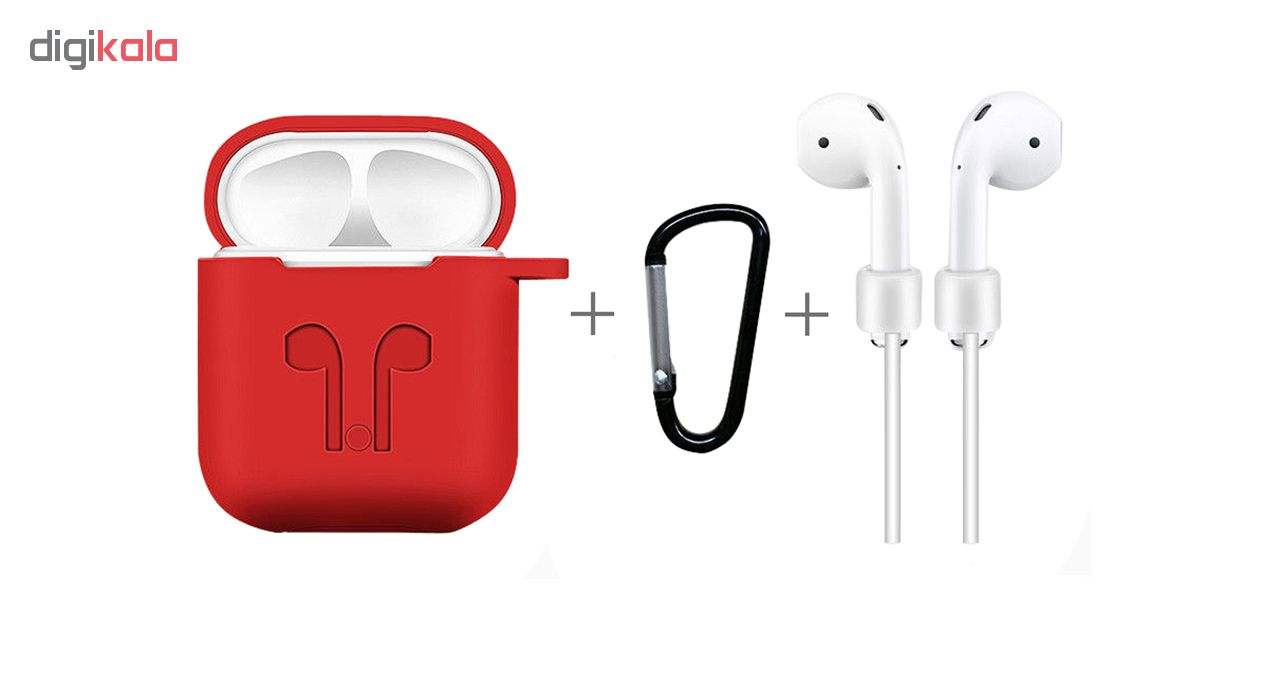 کاور محافظ مدل Fashion مناسب برای کیس اپل AirPods main 1 2