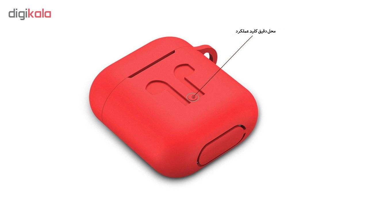 کاور محافظ مدل Fashion مناسب برای کیس اپل AirPods main 1 6