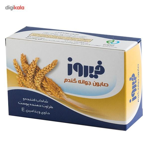 صابون فیروز مدل Wheat Germ مقدار 120 گرم main 1 1