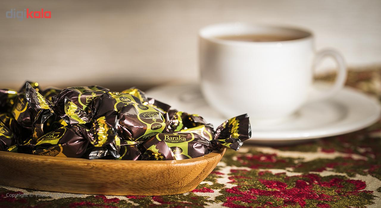 فرآورده کاکائویی مغز دار شیری باراکا مقدار 500 گرم