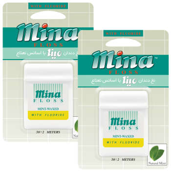 نخ دندان مینا مدل Mint بسته 2 عددی
