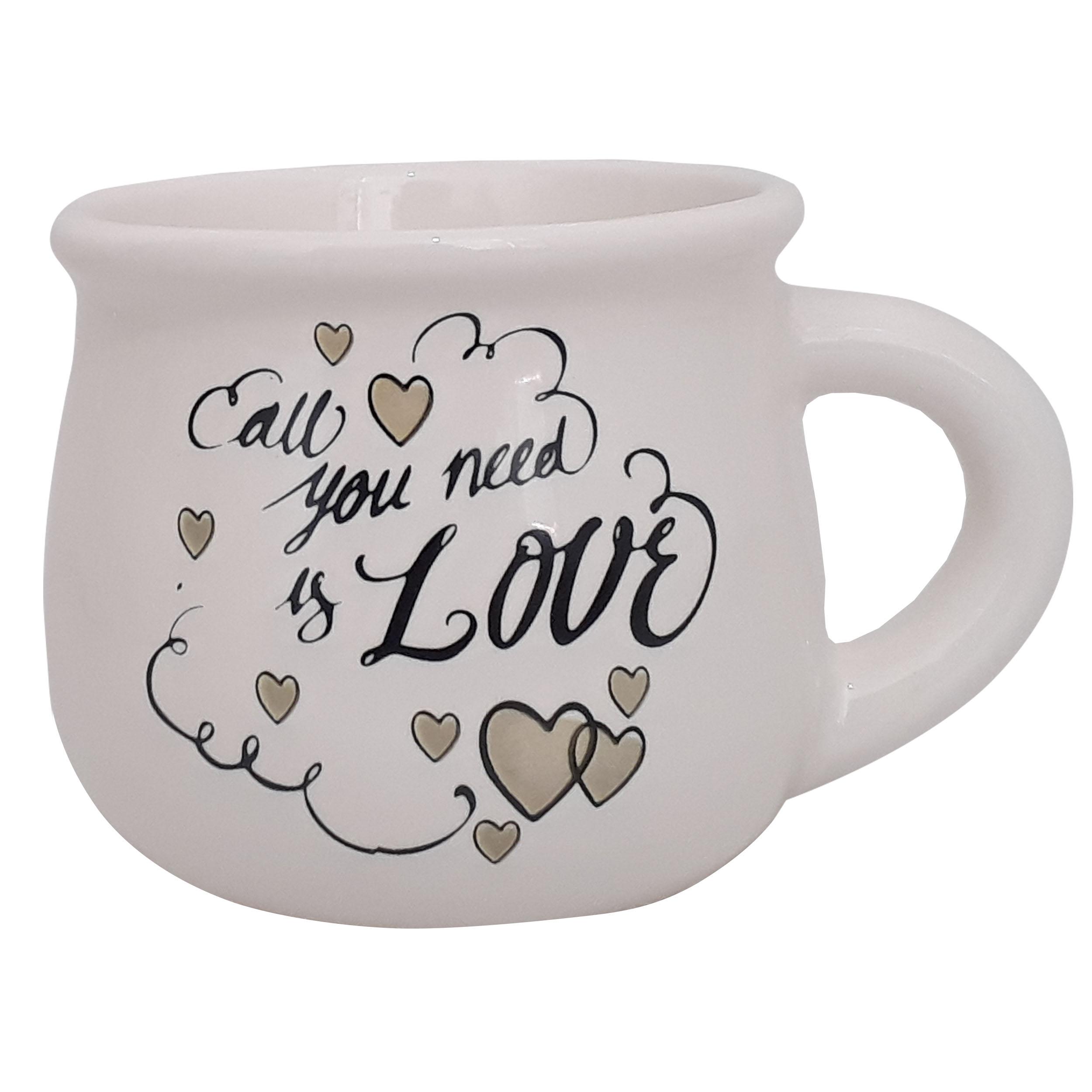 راهنمای خرید ماگ طرح LOVE کد L1 لیست قیمت