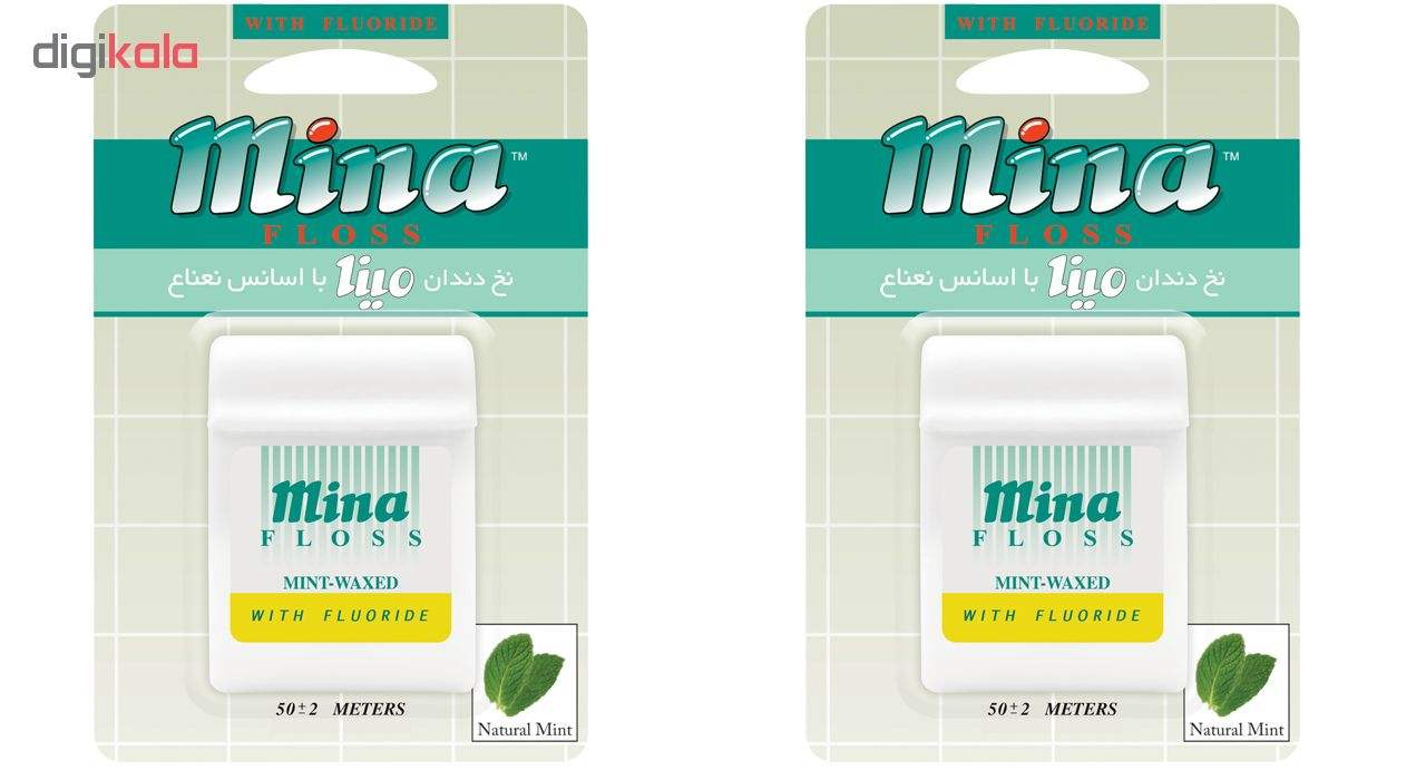 نخ دندان مینا مدل Mint بسته 2 عددی main 1 1
