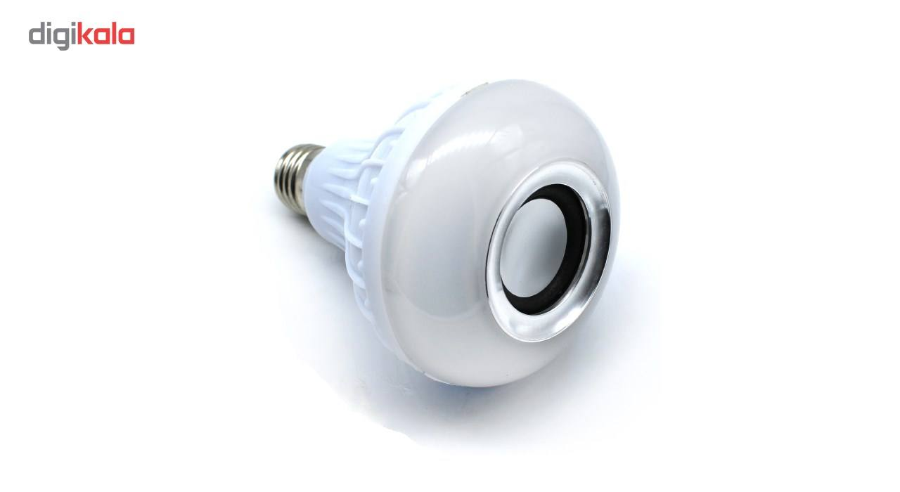 لامپ هوشمند و اسپیکر بلوتوث دیوایس کد Music Bulb  main 1 21