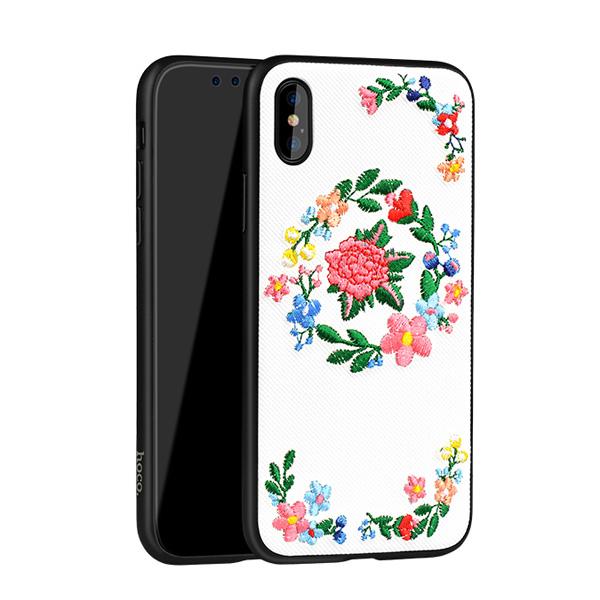 کاور هوکو مدل Peony مناسب برای گوشی موبایل iPhone X/XS