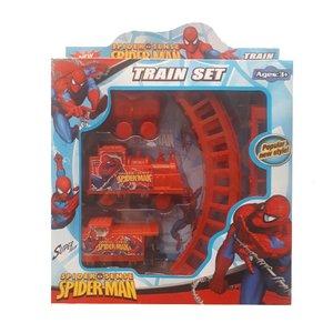 قطار اسباب بازی مدل spider man