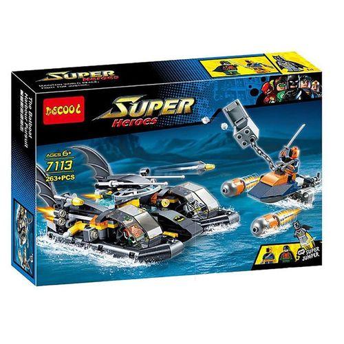 ساختنی دکول مدل Super Heroes 7113