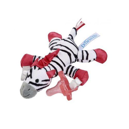 پستانک دکتر براونز مدل 048 به همراه بند پستانک عروسکی