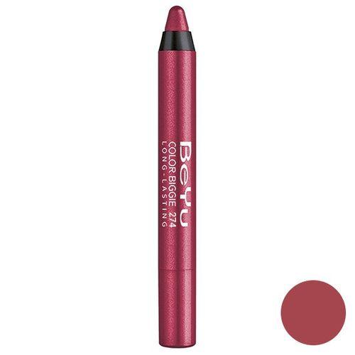 رژ لب مدادی 2 کاره بی یو مدل Color Biggie for Lip and More 274