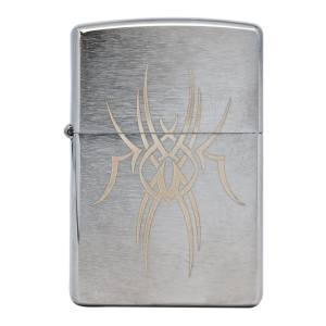 فندک زیپو مدل Tribal Spider کد29457