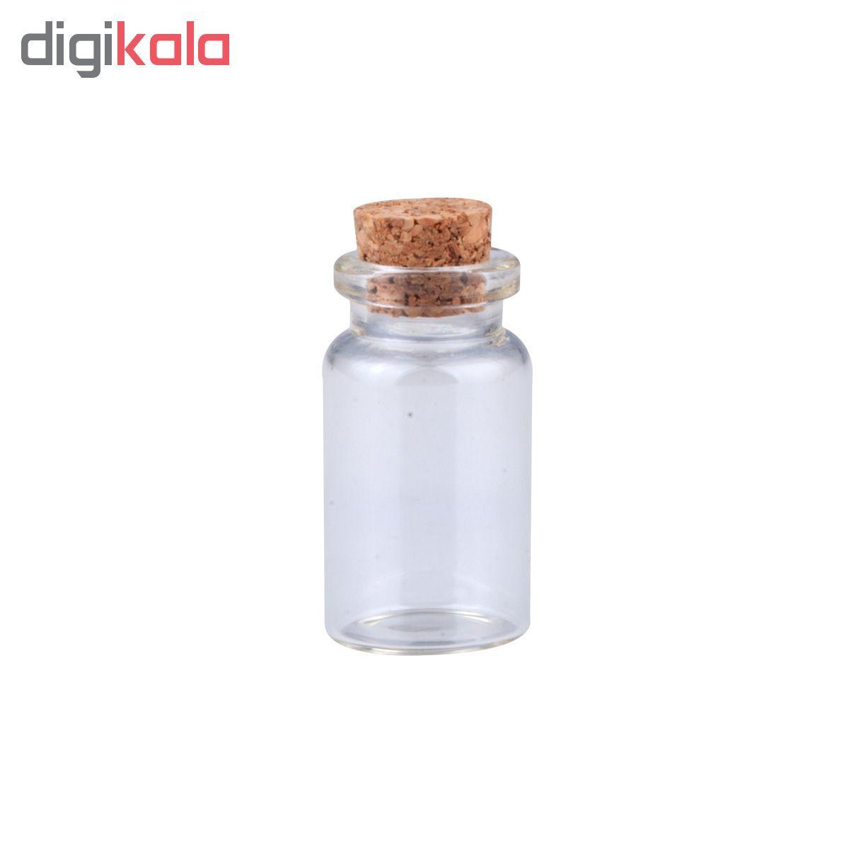 بطری دکوری طرح استوانه کد 0833 بسته 6 عددی main 1 1