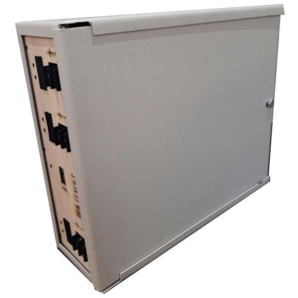 Ups دوربین مداربسته 10A یو پی اس دوربین مدار بسته ظرفیت 120VA با باتری داخلی |