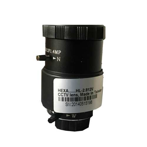 لنز وری فوکال دوربین مداربسته هگزا مدل 2.812V