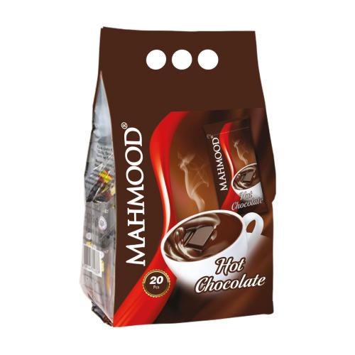 پودر شکلات داغ محمود مدل Hot Chocolate بسته 20 عددی