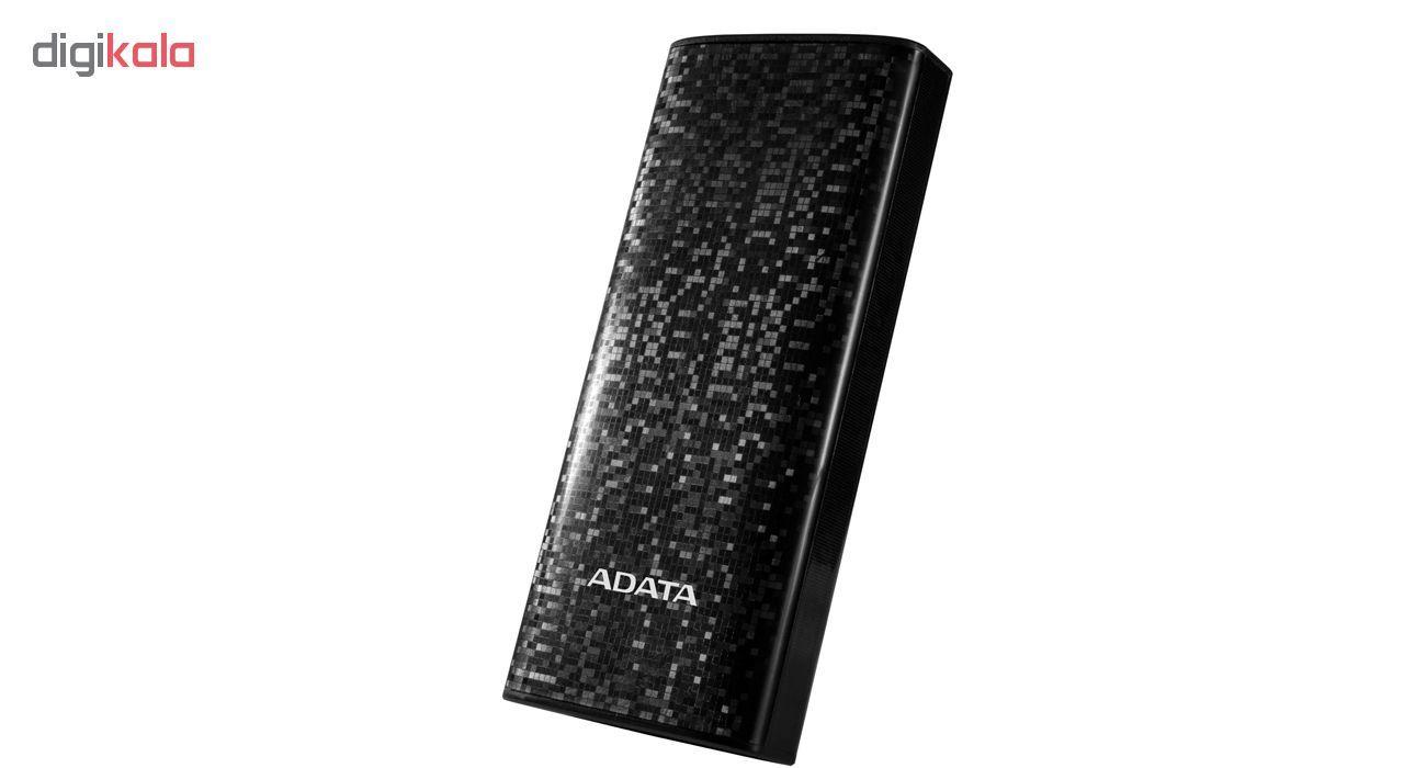 شارژر همراه ای دیتا مدل P10000 ظرفیت 10000 میلی آمپر ساعت main 1 5