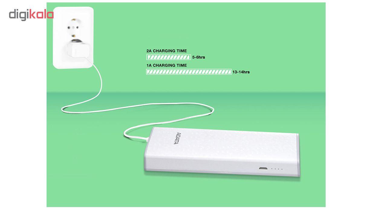 شارژر همراه ای دیتا مدل P10000 ظرفیت 10000 میلی آمپر ساعت main 1 10
