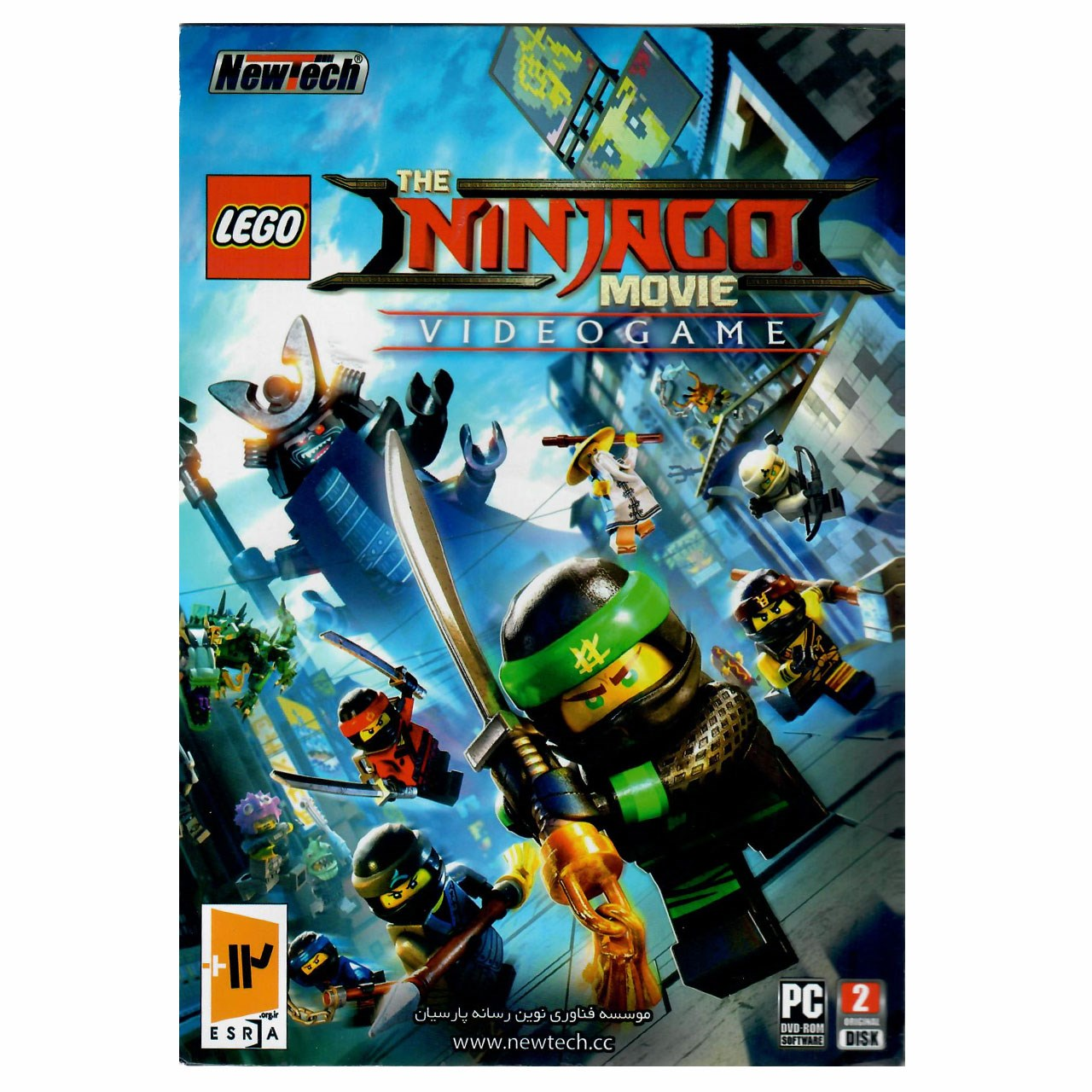 عکس بازی Lego The Ninjago Movie Video Game مخصوص PC