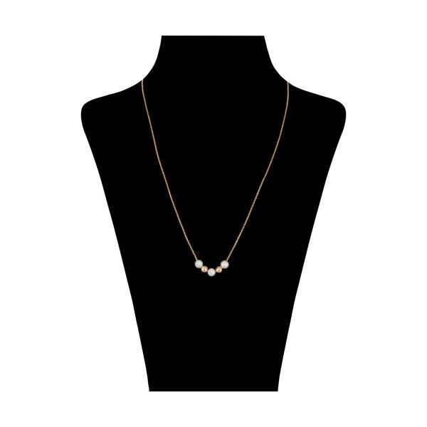 گردنبند طلا 18 عیار زنانه مدیسا مدل N1032