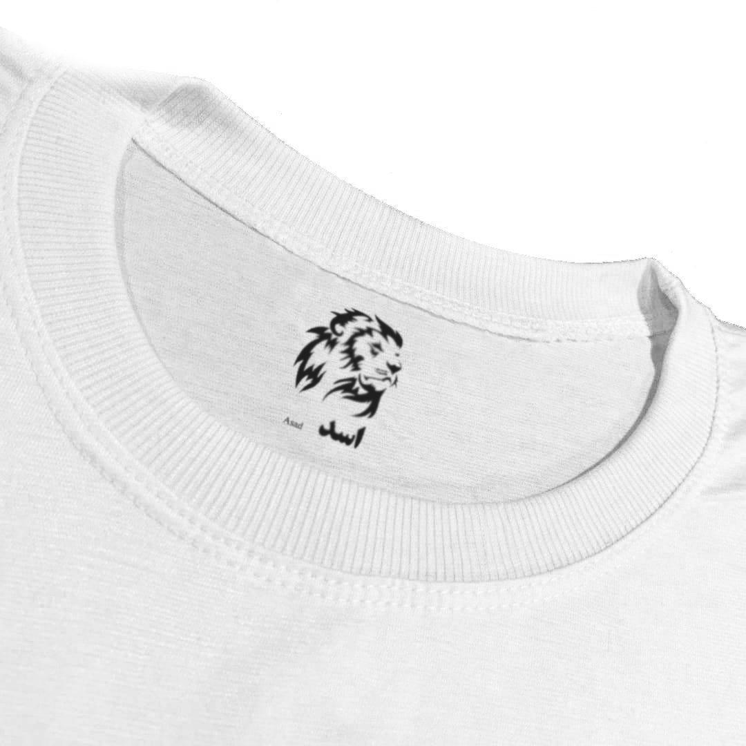 تی شرت آستین کوتاه زنانه اسد طرح بیلی آیلیش کد 48