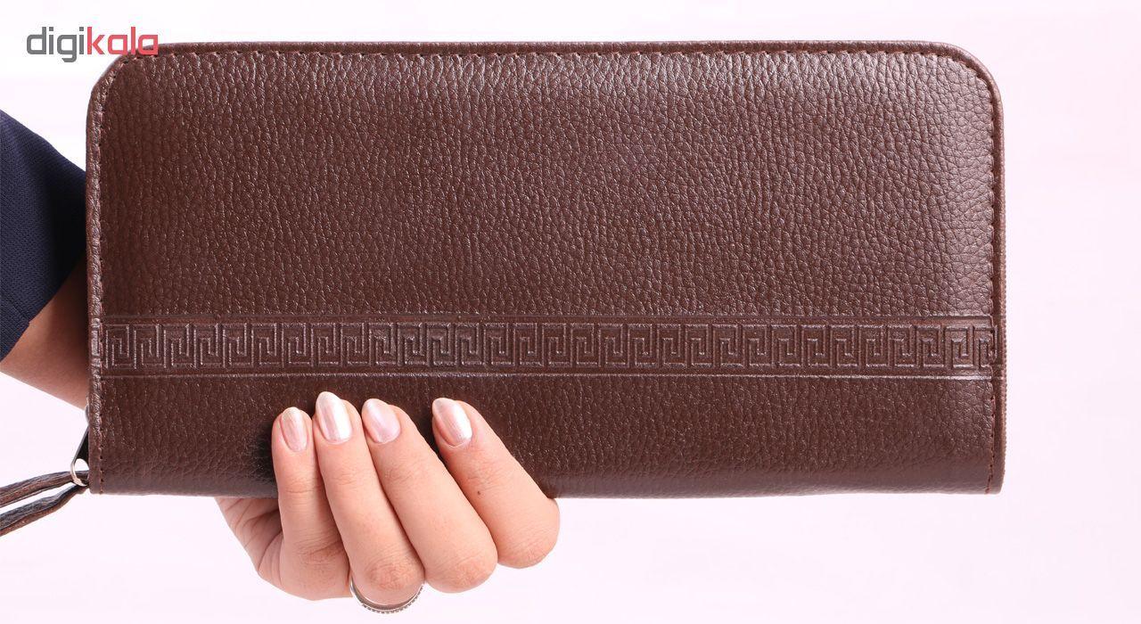 کیف دستی چرم ما مدل SM1 -  - 4
