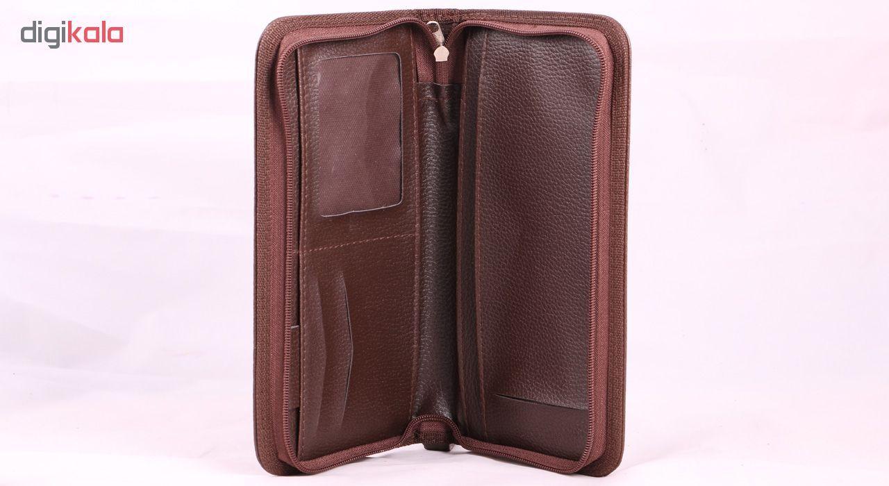 کیف دستی چرم ما مدل SM1 -  - 5