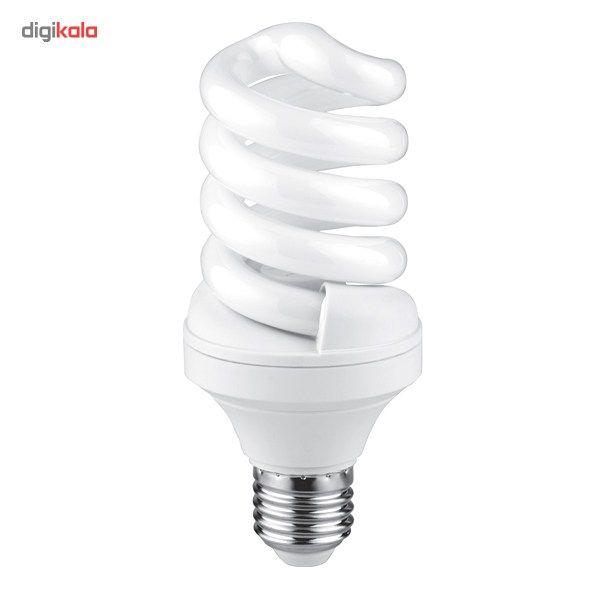لامپ کم مصرف 23 وات نور مدل NES-FS-23W پایه E27 main 1 2