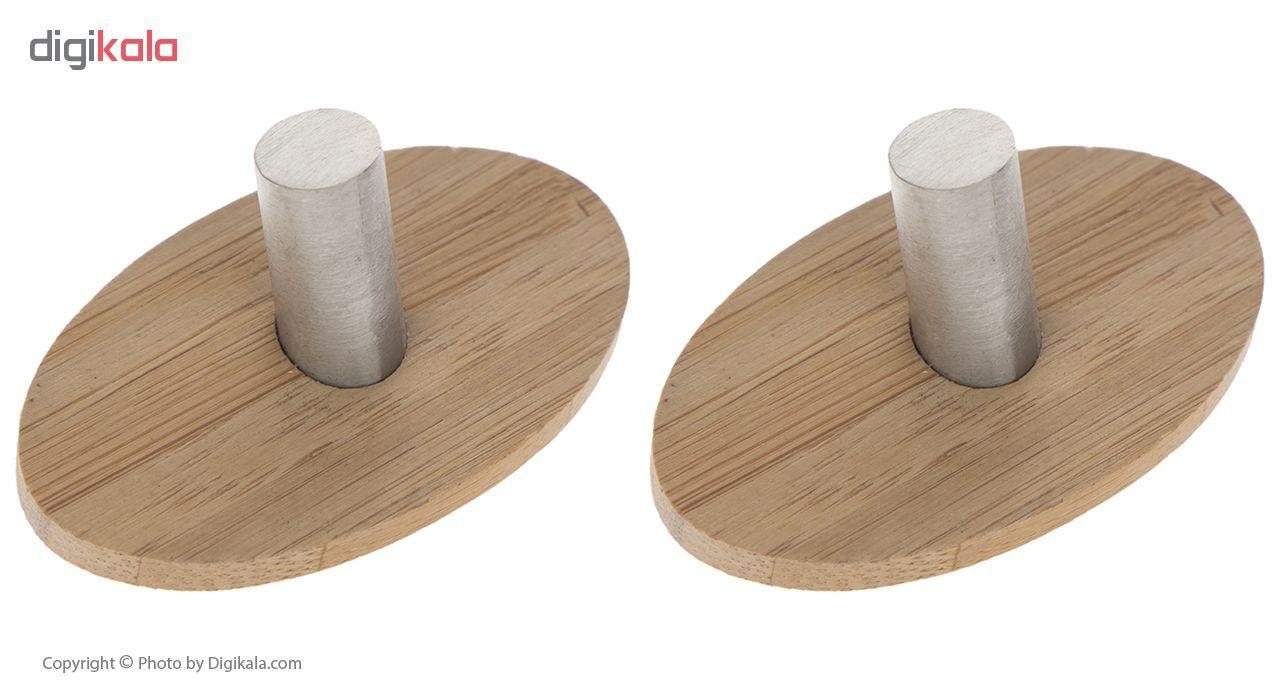 آویز حوله حمام ونکو مدل Piceno Bamboo بسته دو عددی main 1 1