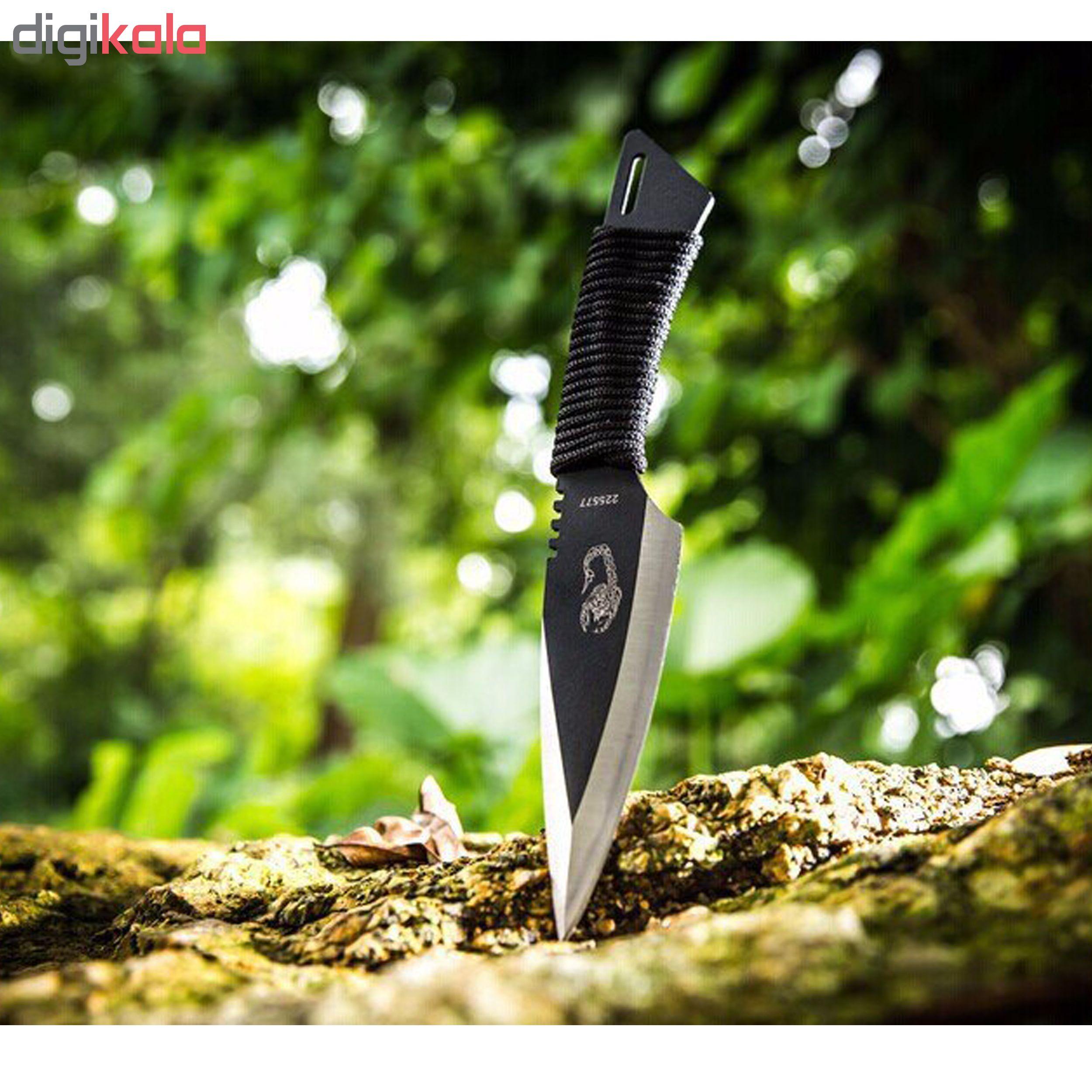 چاقو سفری مدل 225577 بسته 3 عددی