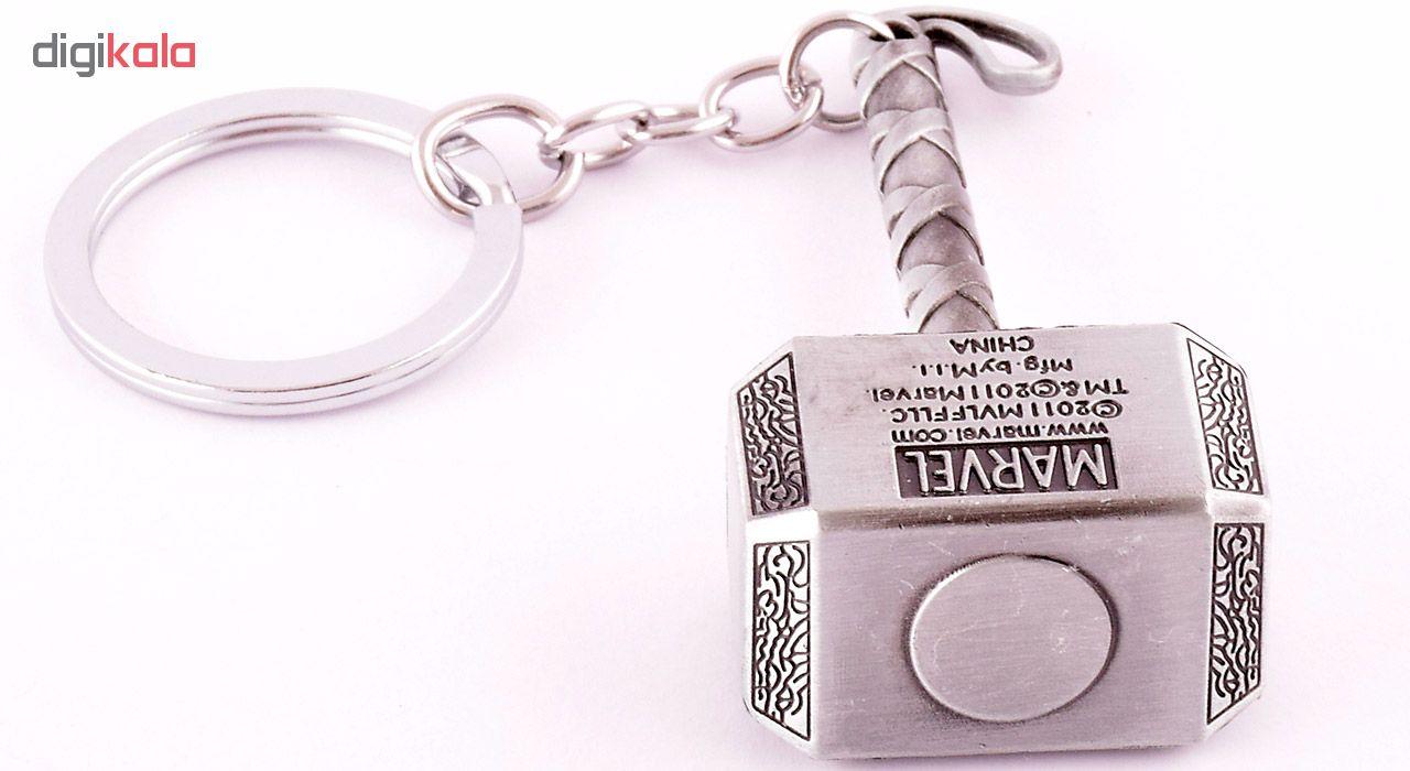 جاسوییچی طرح قهرمان مارول مدل Marvel Thor Hammer