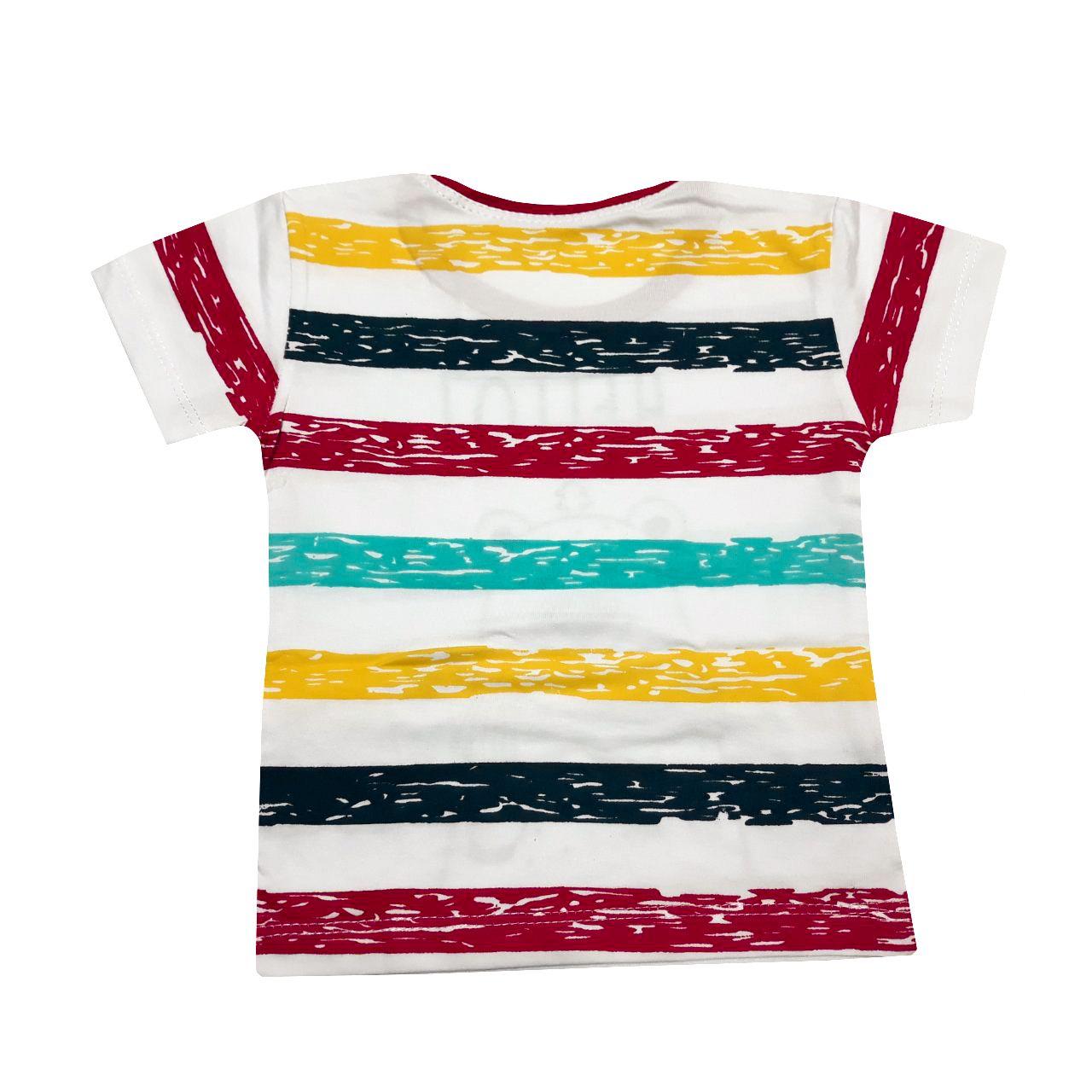 ست تی شرت و شلوارک پسرانه کد GH -  - 3