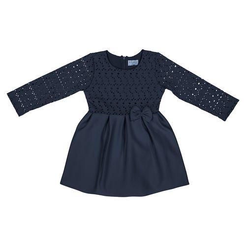 پیراهن دخترانه آر جی کیدز استور مدل Navy01