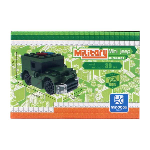 ساختنی میلیتری مدل Mini Jeep